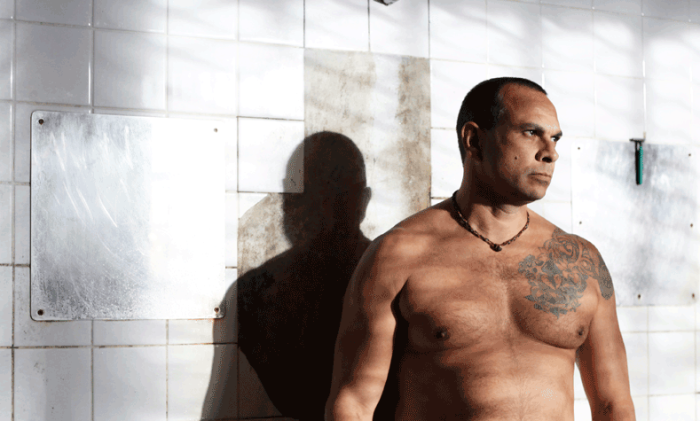 Dean Daley-Jones in a scene from George Basha & David Field's Convict