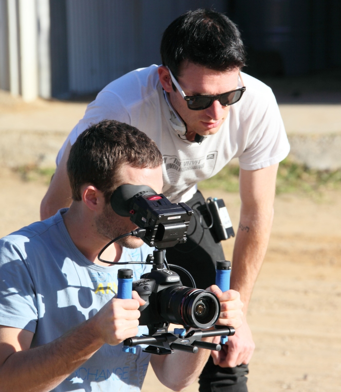 DoP Hayden Fortescue and director Jame Pentecost