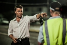 Joel Edgerton in a scene from his new film Felony.