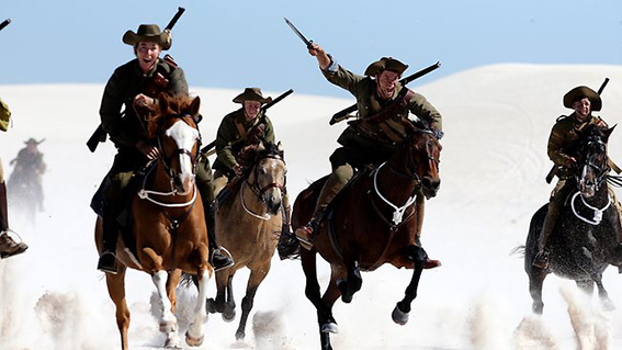 The Waler - Australia's Great War Horse is the only documentary up for the prize.