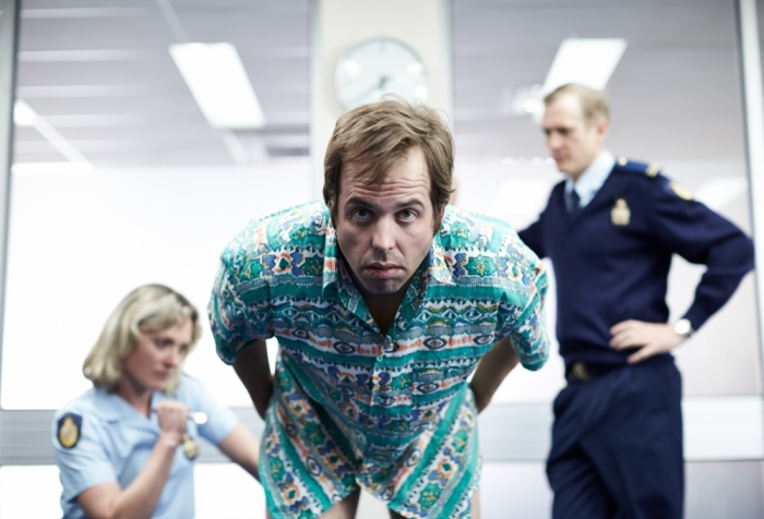 Angus Sampson in a scene from The Mule.
