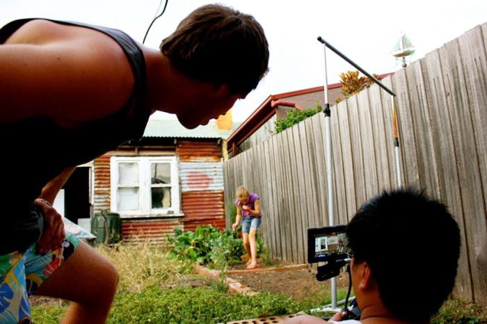 Myself, Cinematographer Binh Phan, actress Bree Whorlton.