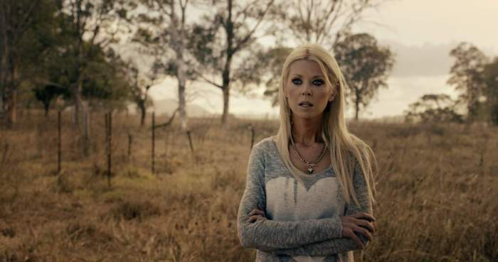 Tara Reid in Chris Sun's Charlie's Farm.