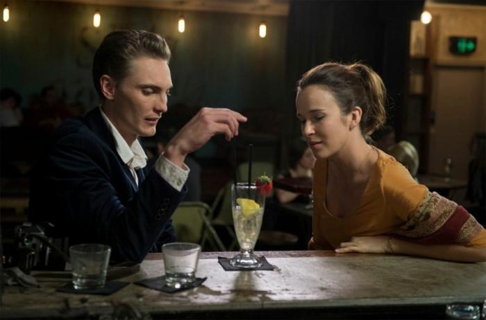 Eamon Farren and Claire van der Boom in Love is Now.