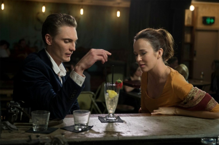 Eamon Farren and Claire van der Boom in Love is Now.