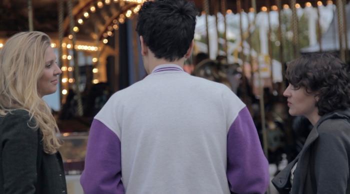 Pretty Good Friends - Rain Fuller, Nathan Barillaro (back to camera) and Jenni Townsend