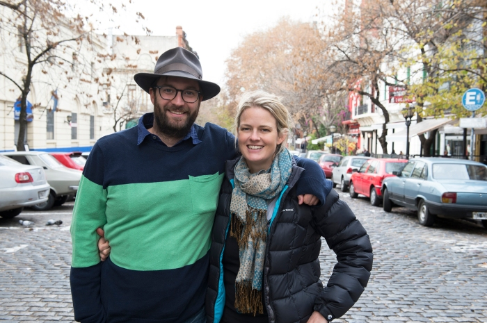 Directors Khrob and Miranda Edmonds. Photo by Tungsten