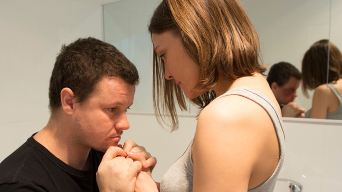 Fletcher Humphrys and Maya Stange in Jack's Promise.