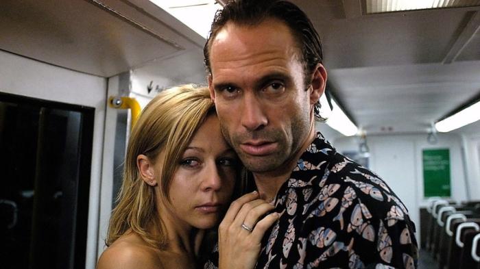 Gigi Edgley and Steve Le Marquand in Last Train to Freo.
