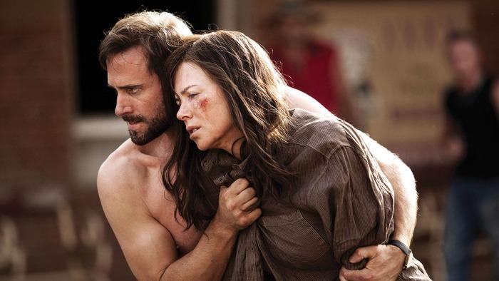 Nicole Kidman and Joseph Fiennes in Strangerland.