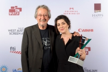 FILMMAKER OF THE YEAR WINNER LAUREN BRUNSWICK.