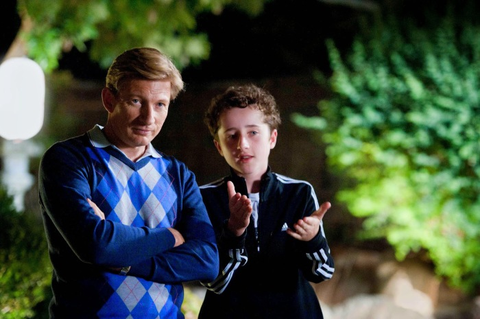 David Wenham and Nicholas Bakopoulos-Cooke in Robert Connolly's Paper Planes.