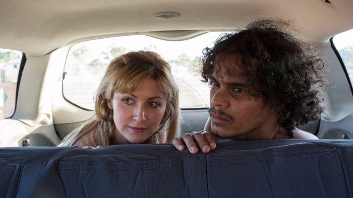 Emma Hamilton and Mark Coles Smith in Last Cab to Darwin.
