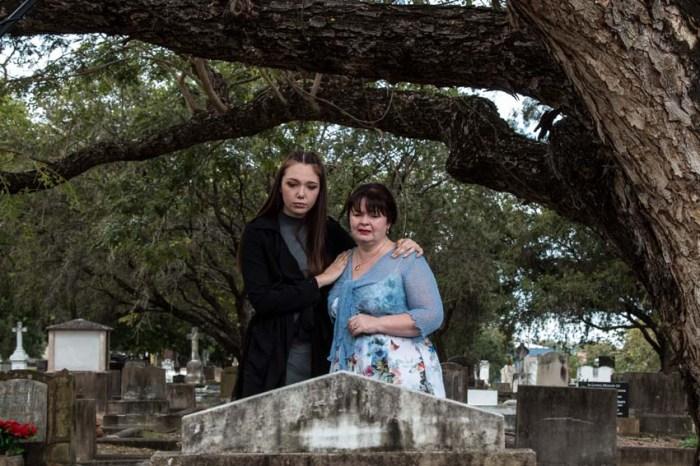 Kiki Townley Linda Millar in An Afterlife.