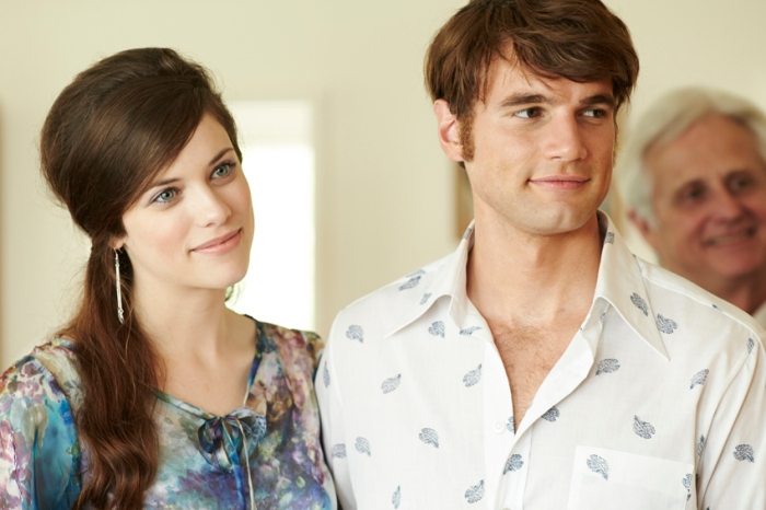 Paula (Jessica De Gouw) and Sparra (Alex Russell) in a scene from Cut Snake.