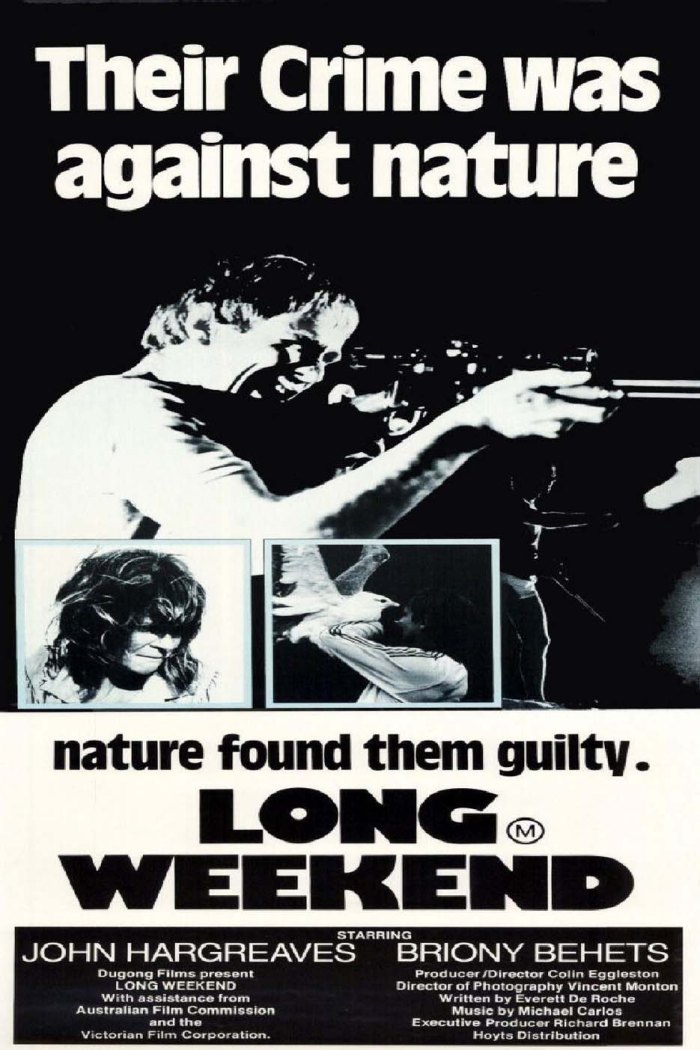 Long Weekend Cinema Australia Poster