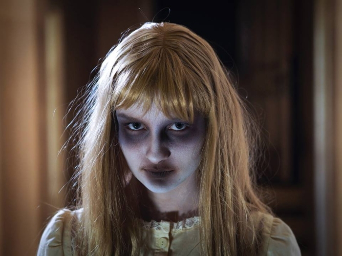 Olivia DeJonge as Abby in Scare Campaign.