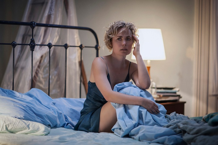 Iris (Radha MItchell) in Whoever Was Using This Bed (Photo - Mark Rogers)