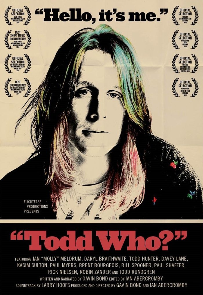 Todd Who? Cinema Australia Poster