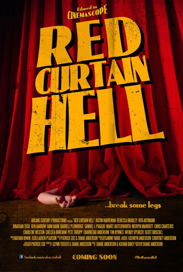 Red Curtain Hell POSTER
