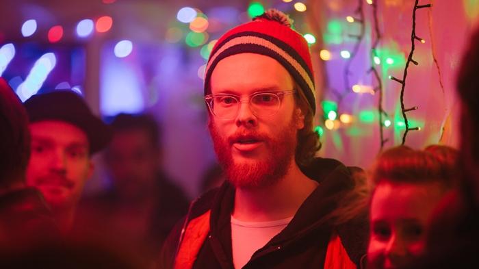 Gregory Erdstein directing a scene in That's Not Me. Photo by Ryan Alexander-Lloyd.