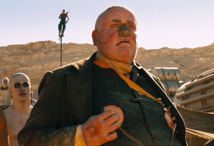 John Howard in Mad Max Fury Road.