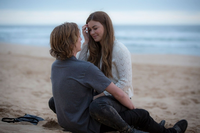 Sean Keenan and Charlotte Best in Is This The Real World.