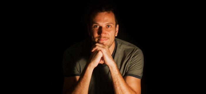 Film composer Ronnie Minder.