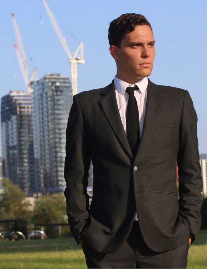 Him (Tim Quabba) - the young Aussie executive working at the World Trade Centre