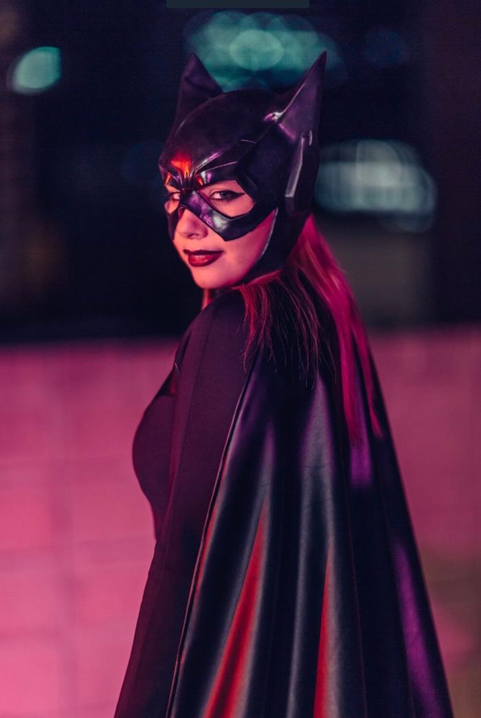 Batgirl Png And Psd Free Download - Bat Woman Clip Art